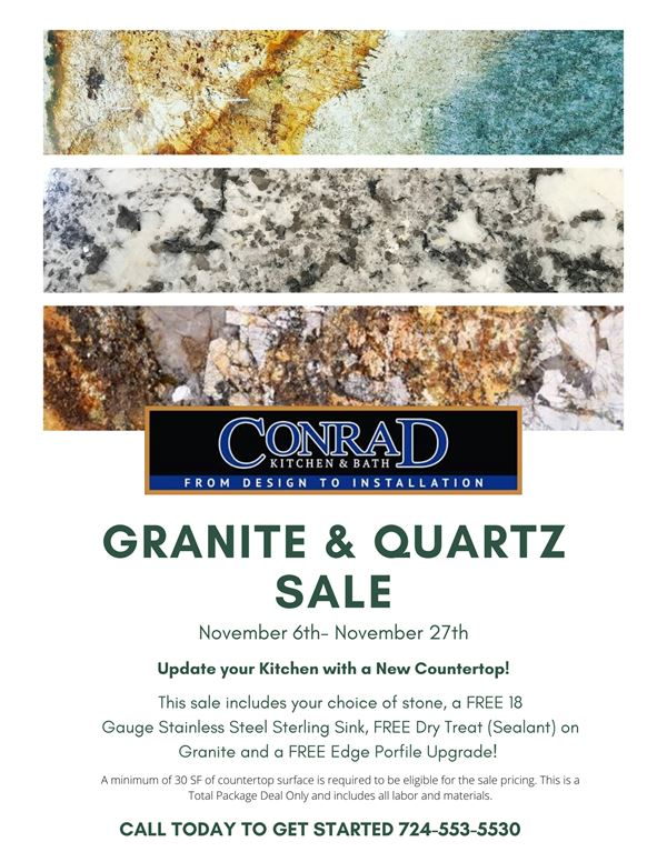 Granite and Quartz Sale